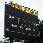 New Scoreboard for the Stadium
