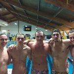 Boys Swim Winning with Small Team