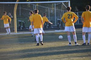 2016 Varsity Boys Soccer vs Marquette 9/27/16