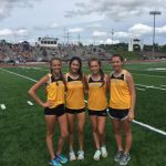 Girls Track Places at Sectionals