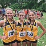 Girls Cross Country Win Invitational