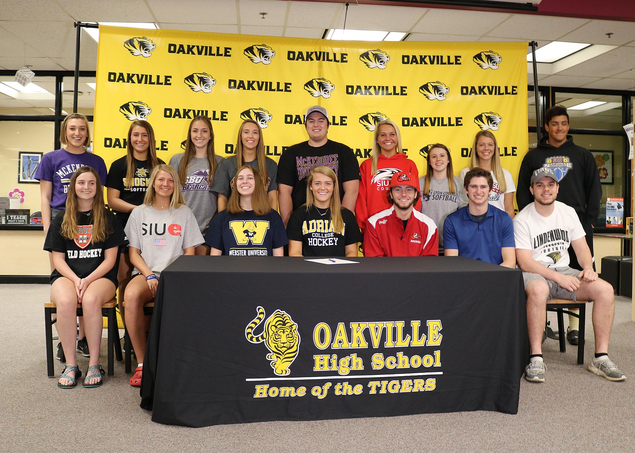 2018 College Bound Student Athletes