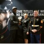 Coach Conners Honored by the Marine Corps