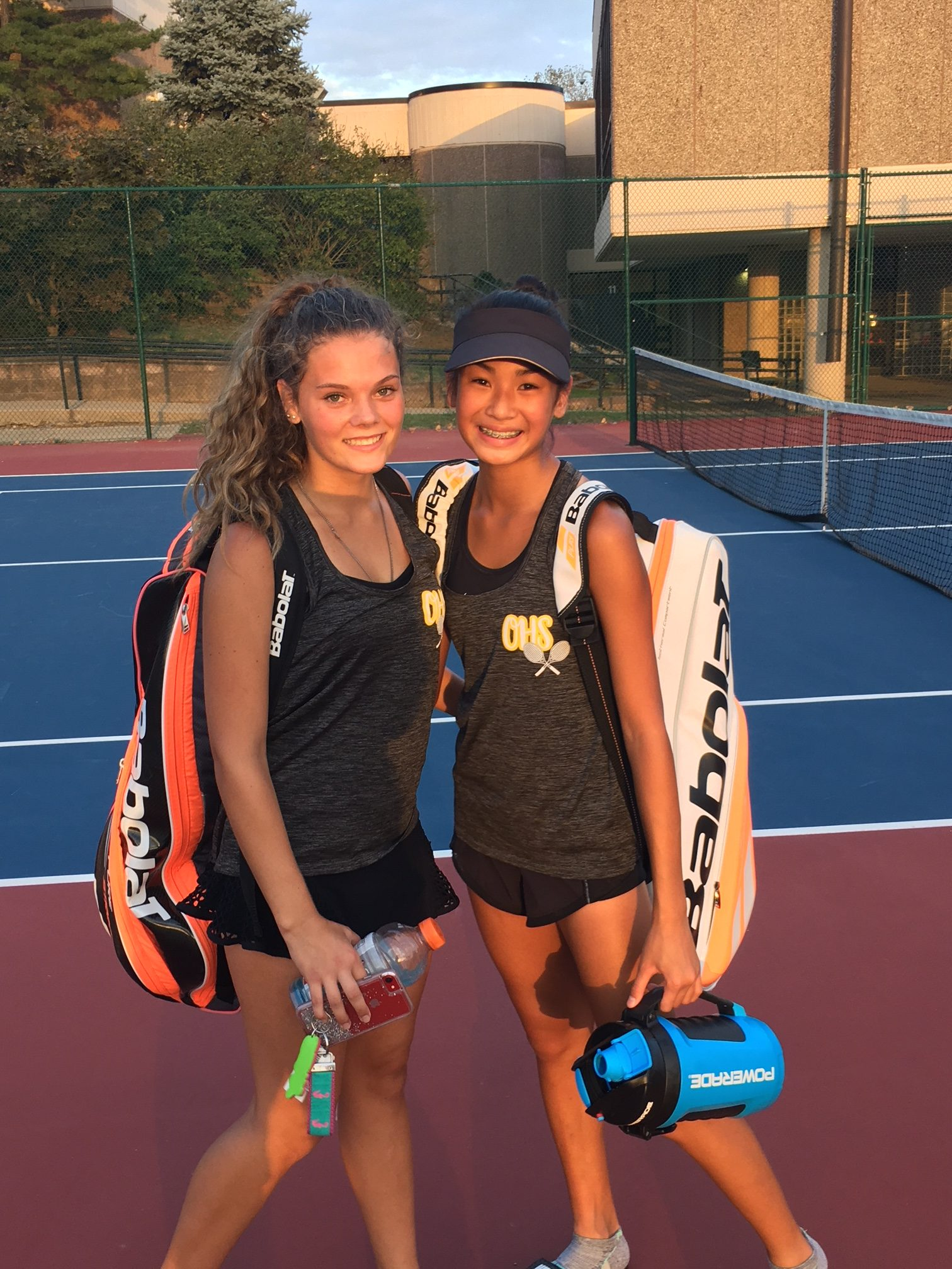 Tennis Double Team Advances to State Tournament