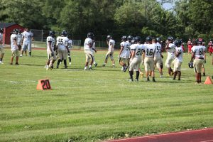 JV Football at Hazelwood (thank you for parent pictures)