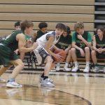 Freshmen Boys Basketball Action (parent pictures)