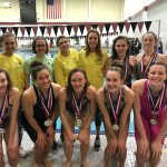 Girls Swim Readies for Conference Swim Meet