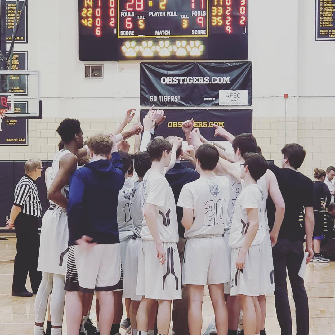Boys Basketball Post Season Recognition