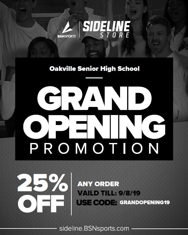 Oakville Athletics 365 Web Store