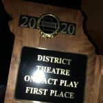 Drama Takes 1st Place at Districts in One Act