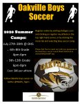 Oakville Soccer Camp and Registration
