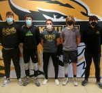 Fab 5 Head to Wrestling Sectionals
