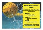 Water Polo Camp this Summer