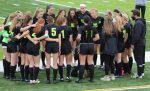 Girls Soccer Honors Seniors & Heads into Districts