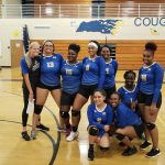 Lady Cougars Claim Senior Night