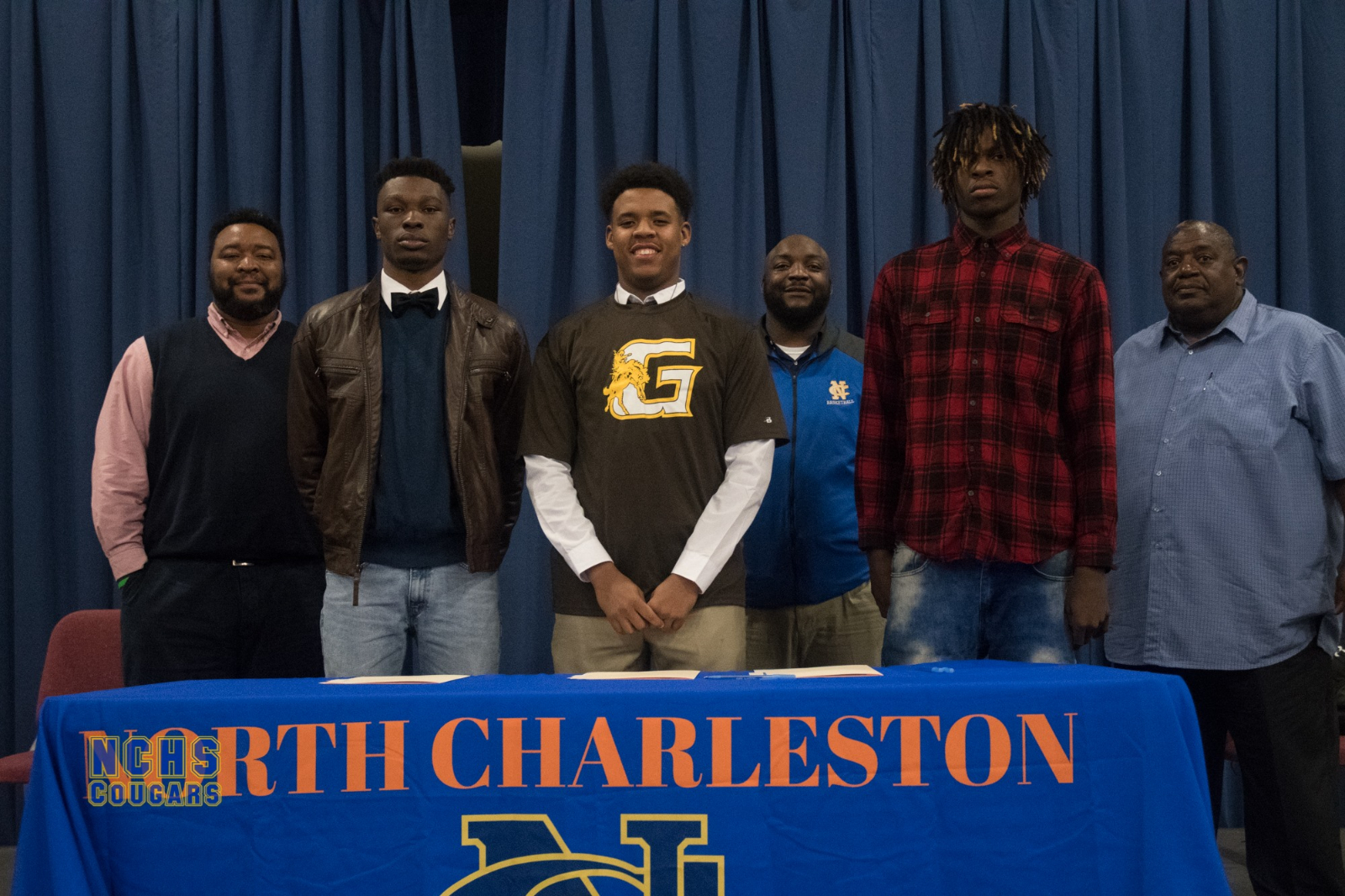 3 NCHS seniors sign commitment letters to play college basketball