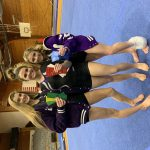 Girls Varsity Gymnastics finishes 1st place at Western against Western