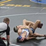 Wrestlers fall to Foley; Ian Hanson beats top ranked wrestler