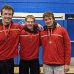 Wrestlers send 3 to state!