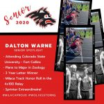 Milaca Track & Field Senior Spotlight #2