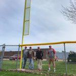 The New Foul Poles Are Up