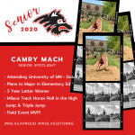 Milaca Track & Field Senior Spotlight #3
