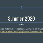 Milaca Activities 2020 meeting update