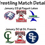 Wrestling Meet Details: January 29 and 30