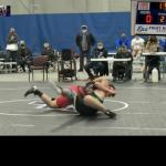 Wrestlers go 1-1 in Foley