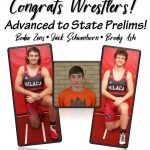 Wrestlers advance 3 to State Prelims