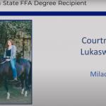 Milaca State Degree Recipient