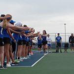 Hamilton Southeastern High School Girls Varsity Tennis beat Noblesville High School 5-0
