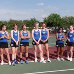 Hamilton Southeastern High School Girls Varsity Tennis falls to Carmel High School 7-0