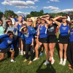 HSE Girls Varsity Tennis beat Fishers High School 5-0 in first round of Sectionals