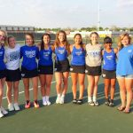 Hamilton Southeastern High School Girls Varsity Tennis falls to Cathedral High School 4-1