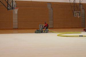 Varsity Gym Floor Redo
