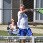 Hamilton Southeastern High School Boys Varsity Tennis beat Noblesville High School 5-0