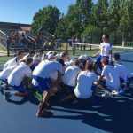 Hamilton Southeastern High School Boys Varsity Tennis falls to Guerin Catholic High School 4-1