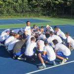 Hamilton Southeastern High School Boys Varsity Tennis beat Cathedral High School 3-2