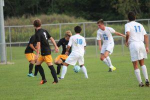 HSE Boys Varsity Soccer game vs. Avon
