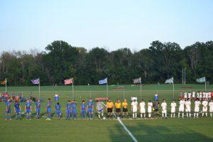 HSE Boys Varsity Soccer game vs. Fishers