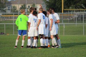 HSE Boys Varsity Soccer game vs. Lawrence North