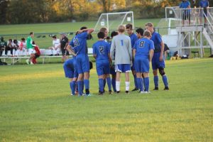 HSE Boys Varsity Soccer game vs. Zionsville