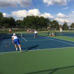 Hamilton Southeastern High School Boys Varsity Tennis beat Fishers High School  4-1 in Sectional Semi-Final