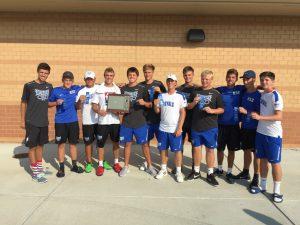 Boys Tennis:  HCC Championships
