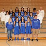 2016-2017 Varsity Girls Basketball Team