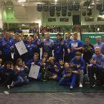 Hamilton Southeastern High School Boys Varsity Wrestling finishes 1st place
