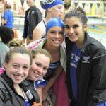Hamilton Southeastern High School Girls Varsity Swimming beat Westfield High School 111-75
