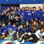 Hamilton Southeastern High School Boys Varsity Wrestling finishes 2nd place