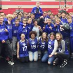 Hamilton Southeastern High School Boys Varsity Wrestling beat Fishers High School 58-10